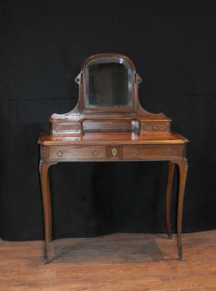 French Antique Dressing Table Vanity Desk Dresser Kingwood
