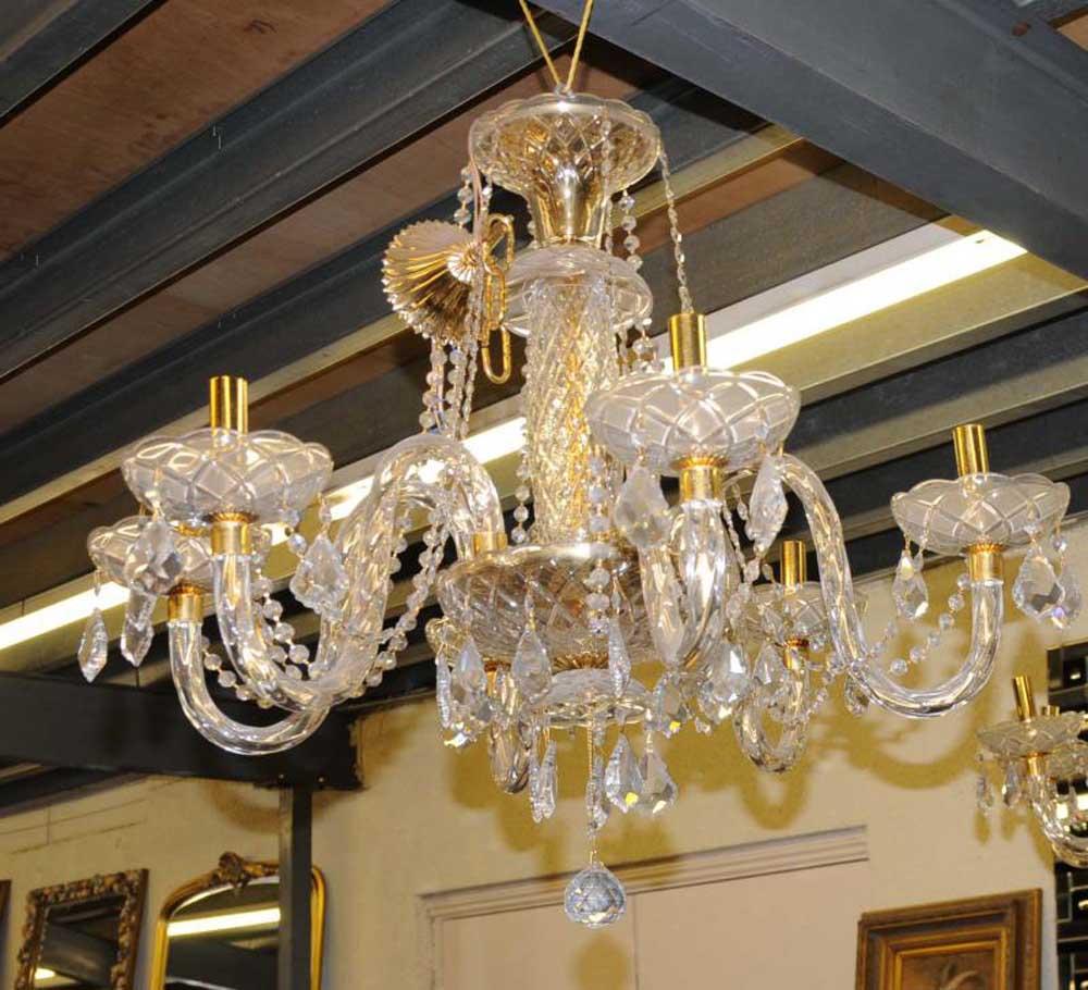 French art nouveau chandelier light ormolu lamp for Chandelier art nouveau