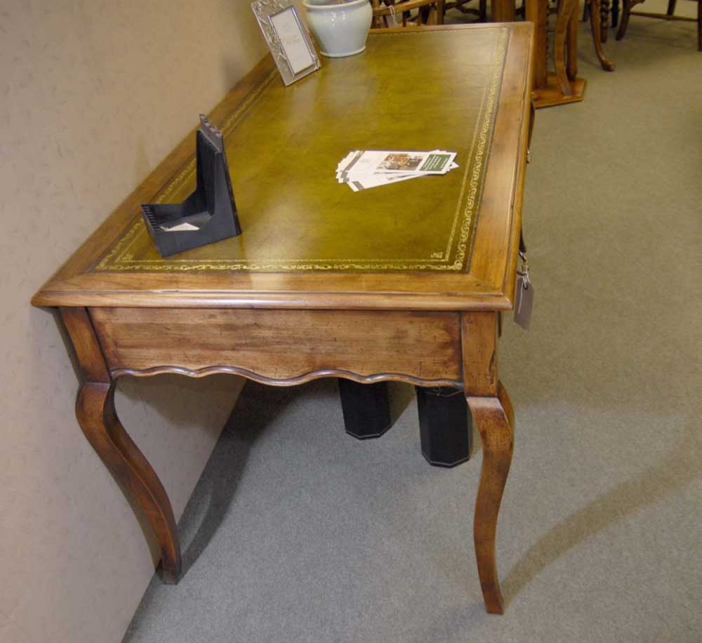 French Cherry Wood Writing Table Desk Bureau Desks