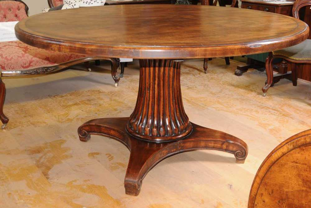 french round oak dining table farmhouse furniture refectory tables