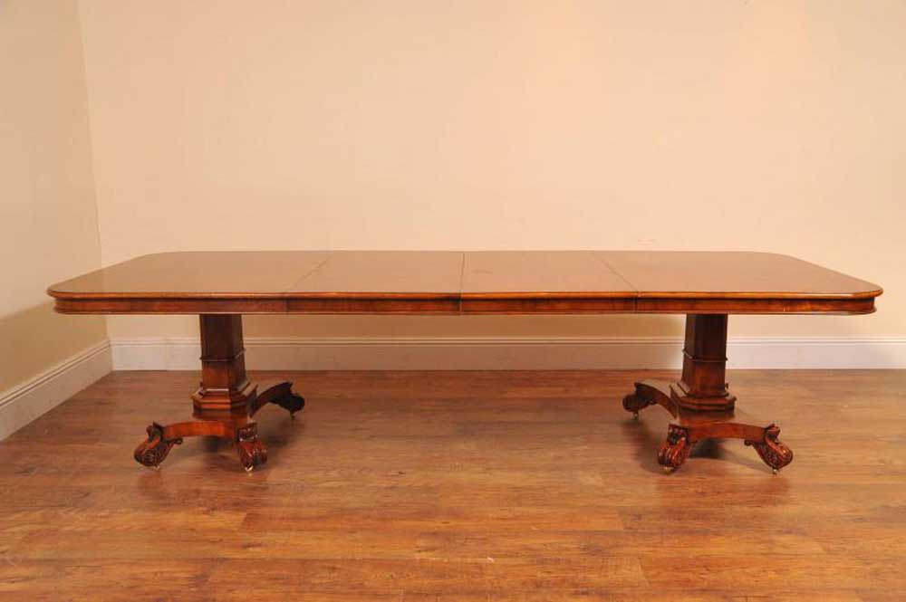 george ii walnut dining table 10 chippendale chair set