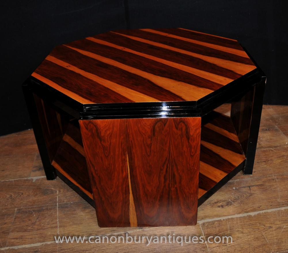 Art Deco Coffee Table Octagonal Tables 1920s Interiors