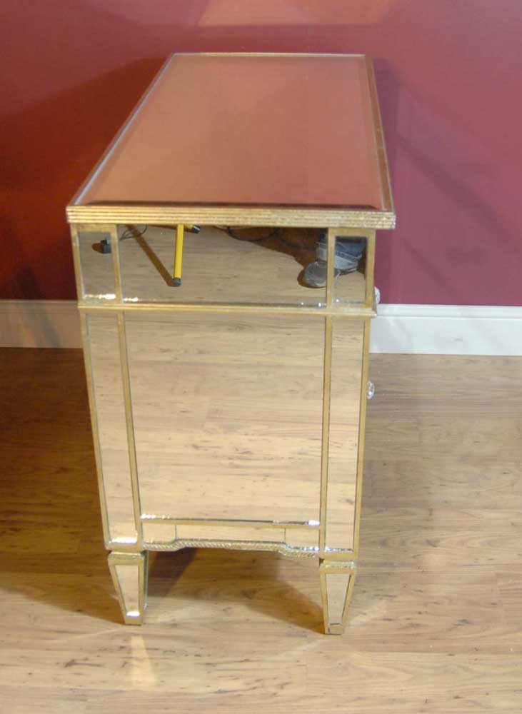 Italian Art Deco Mirrored Chest Drawers Cabinet Chests Commode
