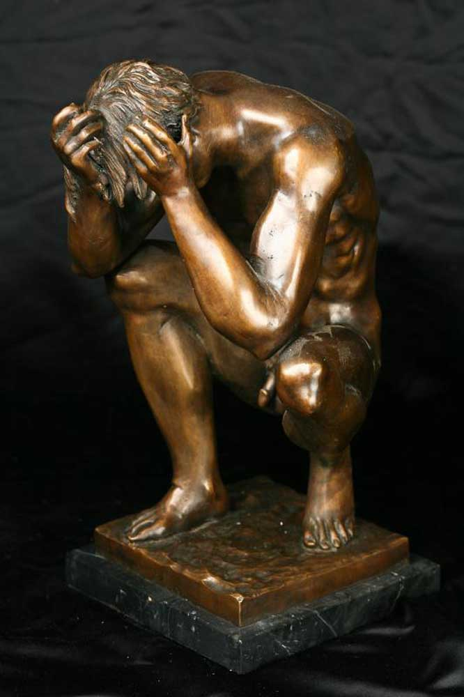 Male Nude Statue 91
