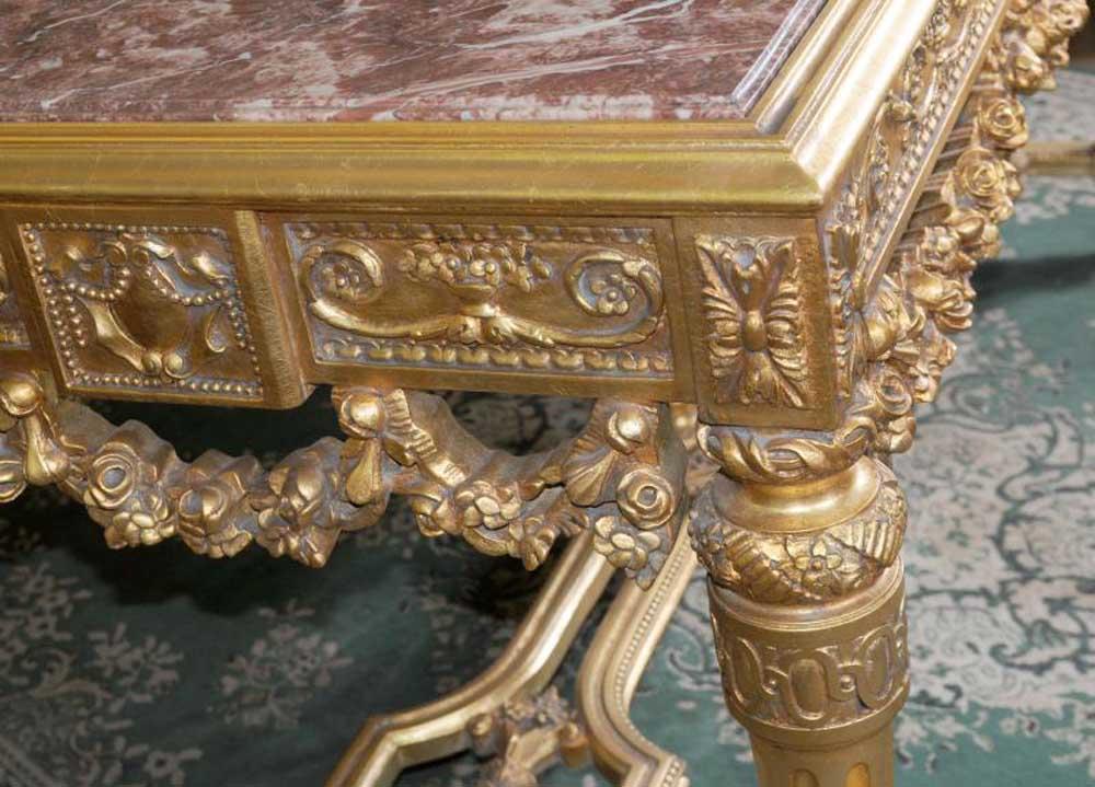 Italian Gilt Renaissance Console Centre Table