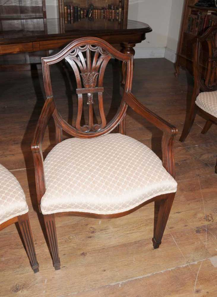 Mahogany Dining Table Chairs Victorian Extender Amp Sheraton