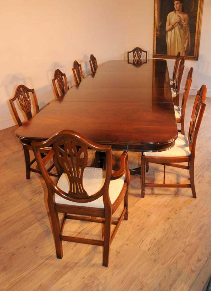 Mahogany Regency Dining Set Table Amp Prince Wales Chairs