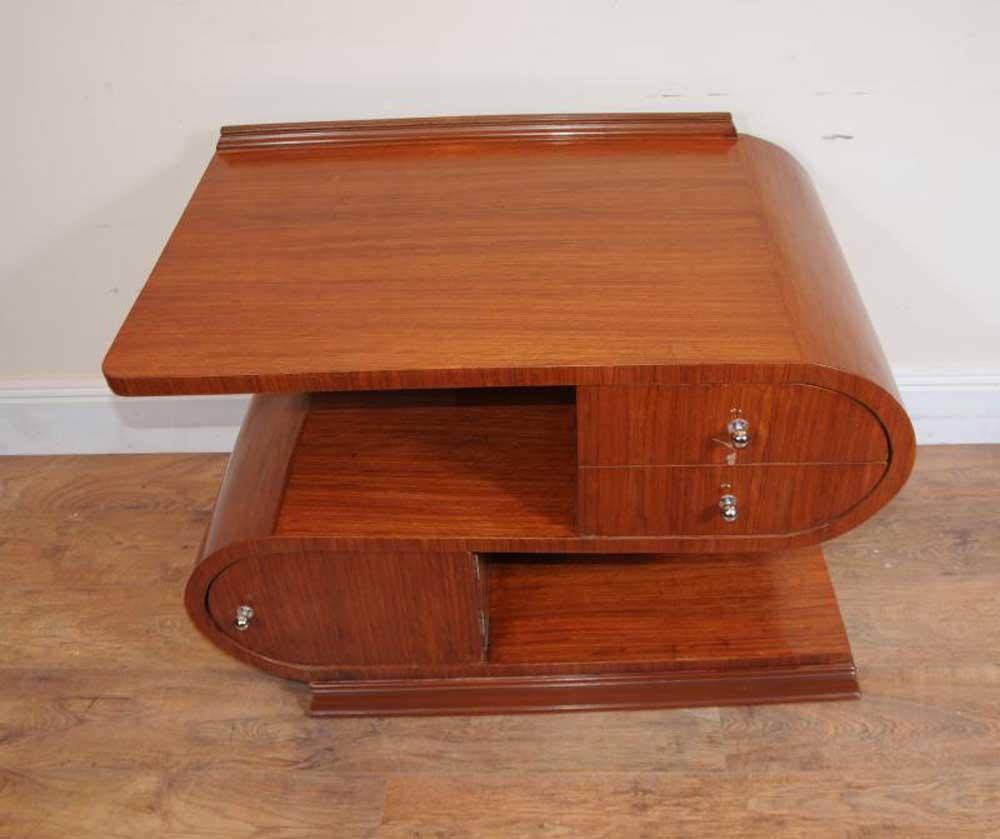 modernist art deco coffee table tables. Black Bedroom Furniture Sets. Home Design Ideas
