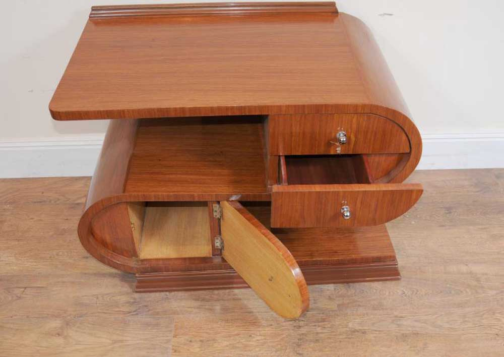Modernist art deco coffee table tables for Art deco coffee table