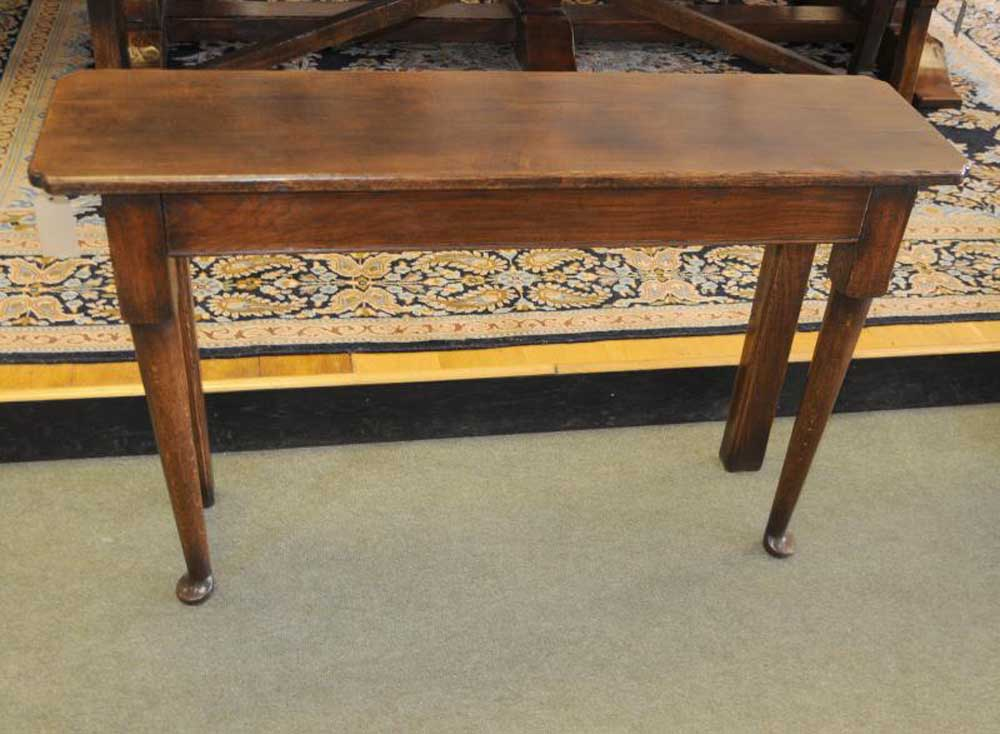 Oak Console Table Dresser Sideboard Farmhouse Server Buffet