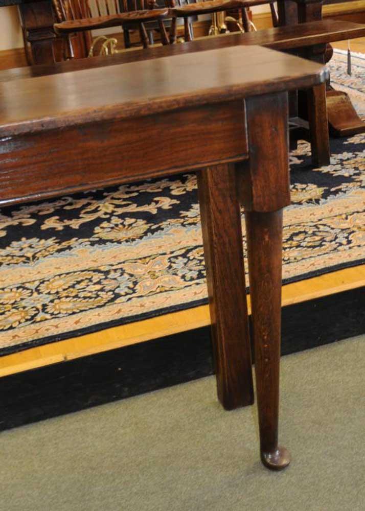 Oak Console Table Dresser Sideboard Farmhouse Server Buffet