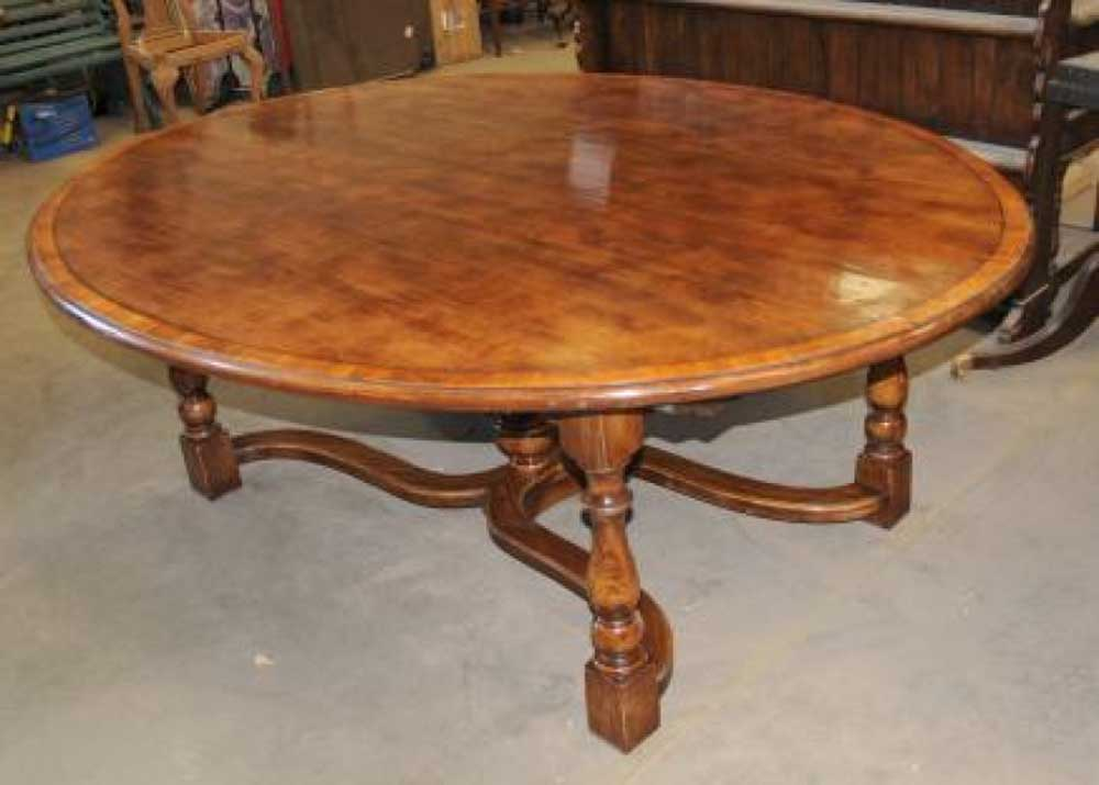 Oak Kitchen Table Oak Oval Top Refectory Dining