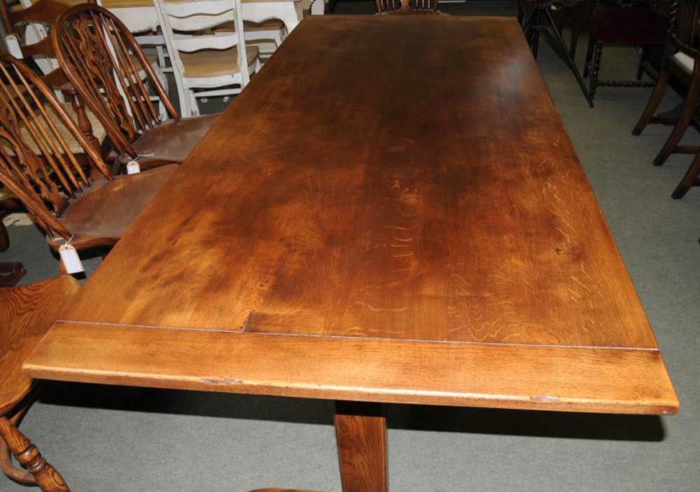 Oak Refectory Table Kitchen Dining Furniture Trestle  : oak refectory table kitchen dining furniture trestle tables 1352349035 product 4 from www.ebay.ie size 1000 x 703 jpeg 79kB