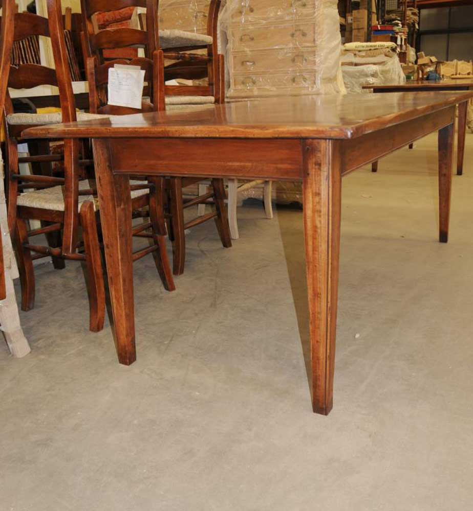 Oak refectory dining table arts and crafts oak refectory for Arts and crafts kitchen table