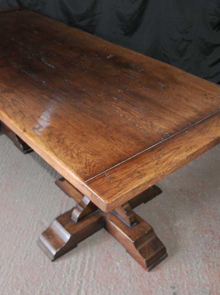 oak refectory table penhurst farmhouse kitchen furnitur ebay