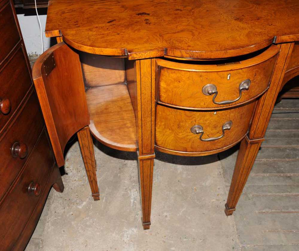 Sideboard Buffet In Dining Room Antiques