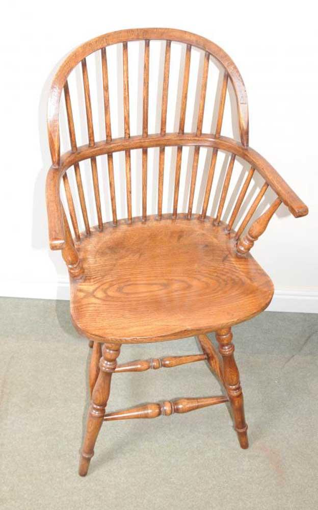 Oak Windsor Bar Stool Chair Windsor Chairs Farmhouse