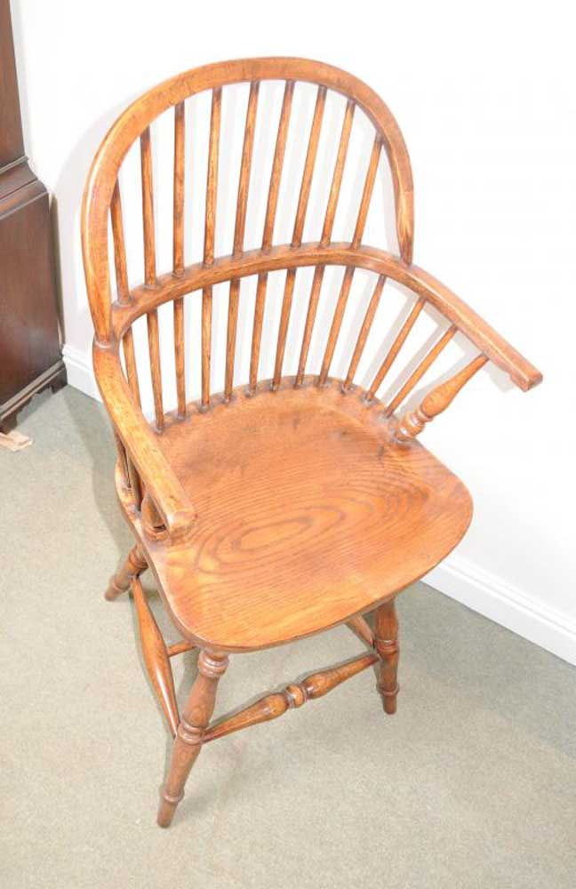 Oak Windsor Bar Stool Chair Windsor Chairs Farmhouse
