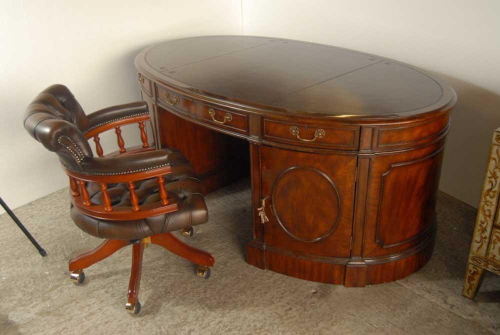 cherry basis en partner options partners english base oak top mahogany desk in sizes leather