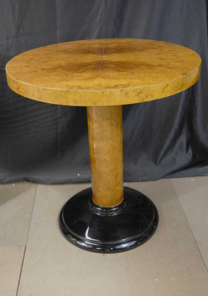 Pair Art Deco Occasional Tables Side Table
