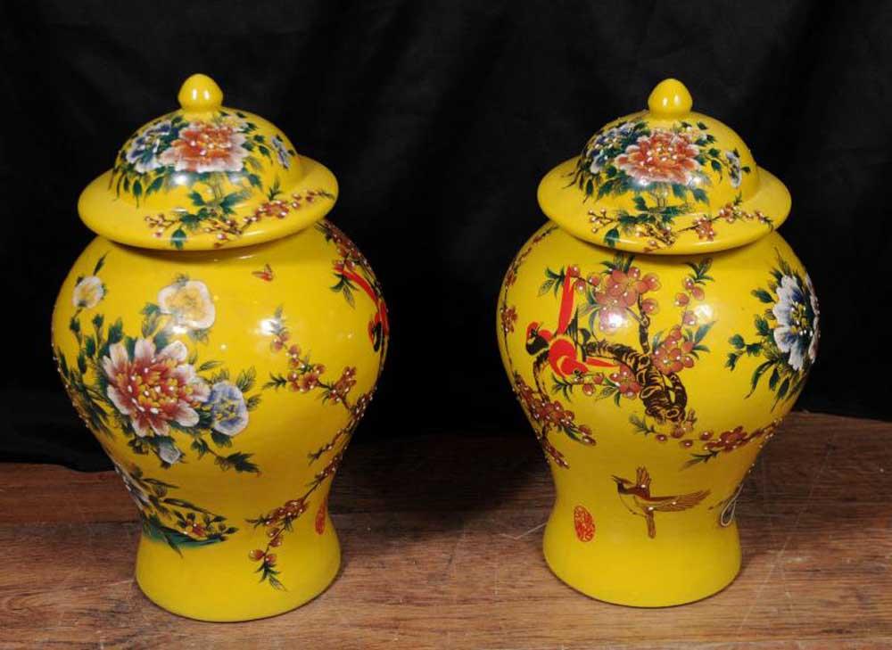 Pair Chinese Ming Porcelain Floral Ginger Jars Vases Urns  : pair chinese ming porcelain floral ginger jars vases urns pottery 1343131295 product 9 from canonburyantiques.com size 1000 x 729 jpeg 86kB