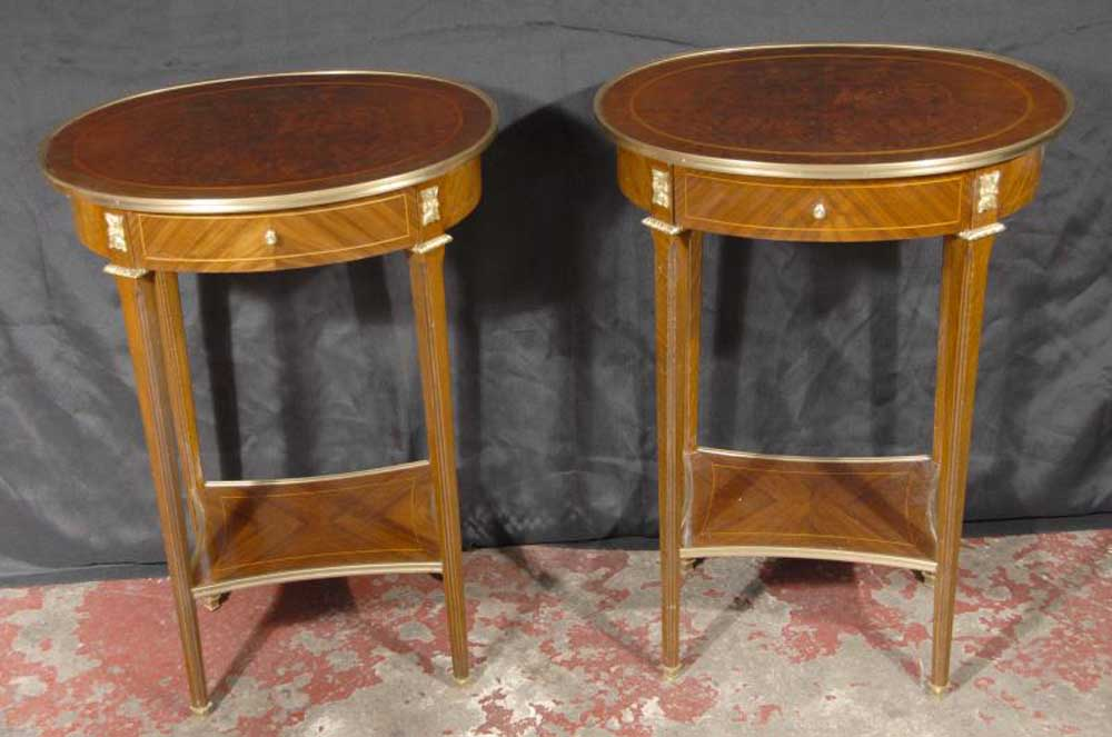 Pair English Georgian Side Tables Table Furniture Ebay