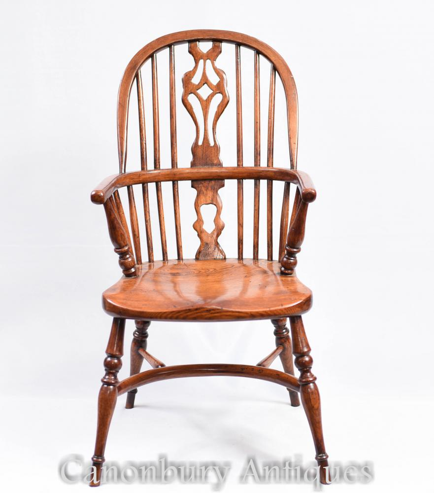 Antique Windsor Chairs Dining: Pair Mini Kids Windsor Rustic Dining Chair Chairs Antique