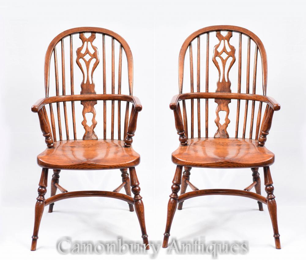 Seating Mini Gravita Armchair In Oriental Garden Fabric: Pair Mini Kids Windsor Rustic Dining Chair Chairs Antique