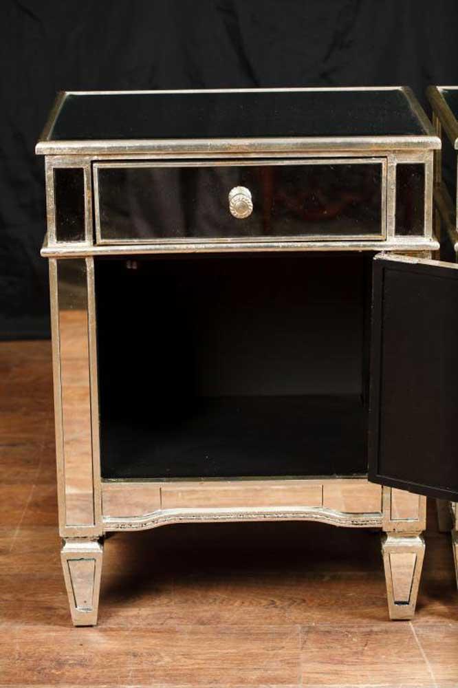 irvin 3 drawer mirror chest