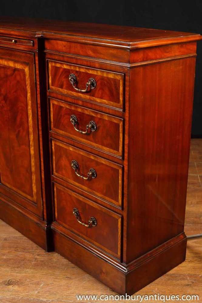 Regency Mahogany Sideboard Buffet Server Furniture