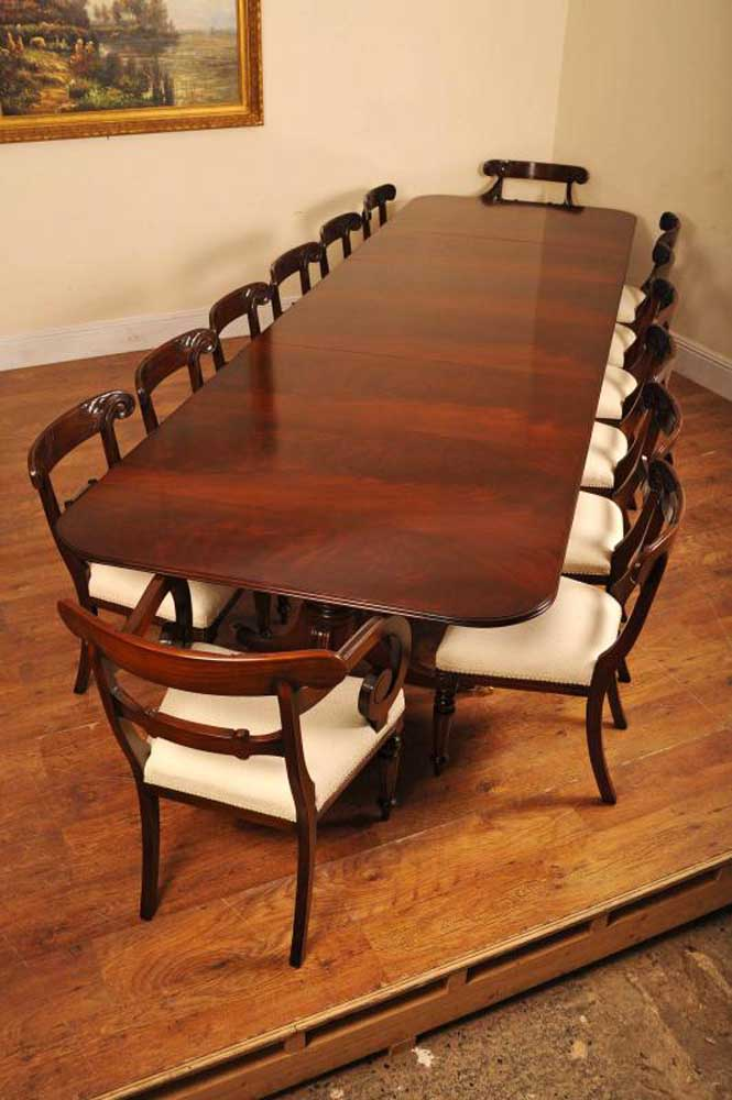 Regency Pedestal Dining Table Amp Chairs Set Suite Diner