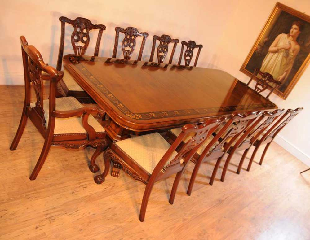 Person Dining Room Table Uk Antiques