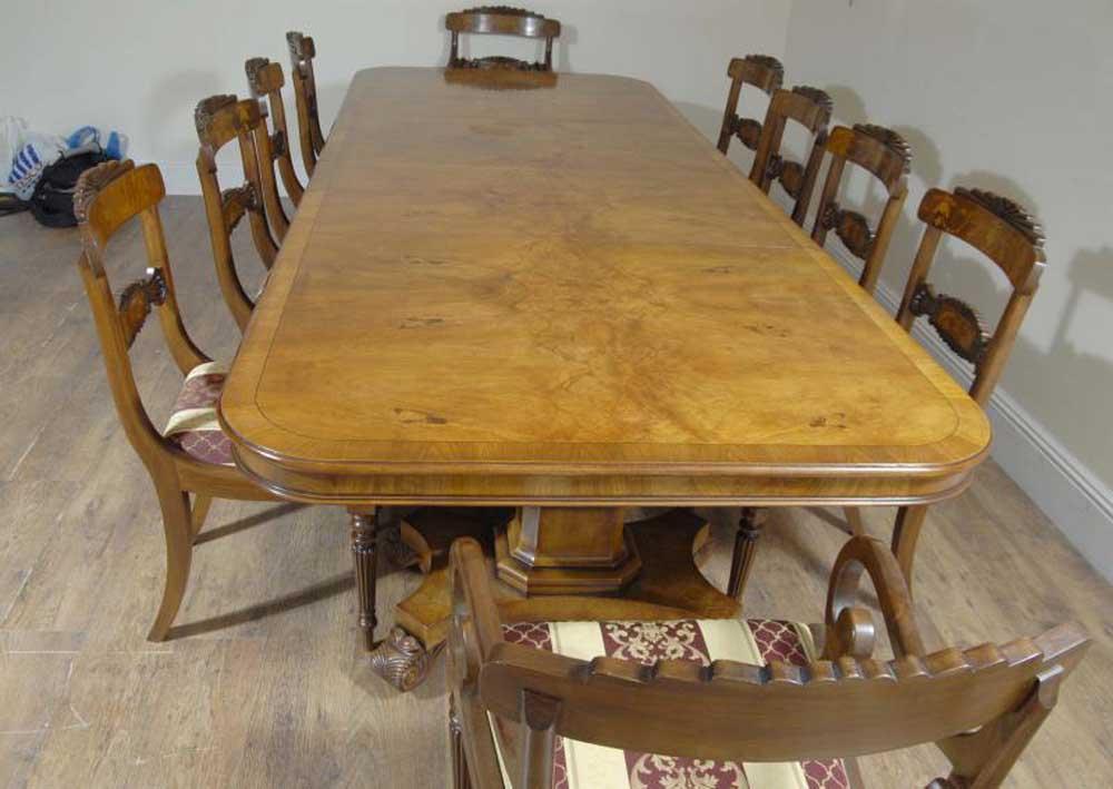 Regency Walnut Dining Table amp 10 William IV Chairs Set eBay : regency walnut dining table and 10 william iv chairs set 1269027840 product 25 from www.ebay.co.uk size 1000 x 709 jpeg 73kB