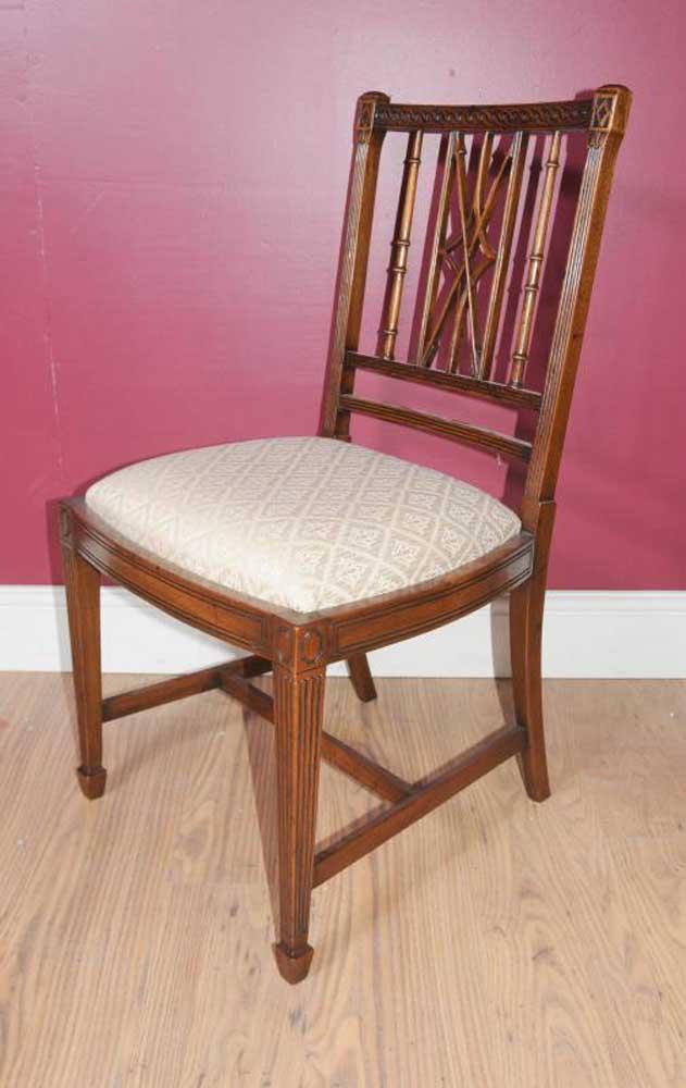Set 10 Regency Arrowback Dining Chairs