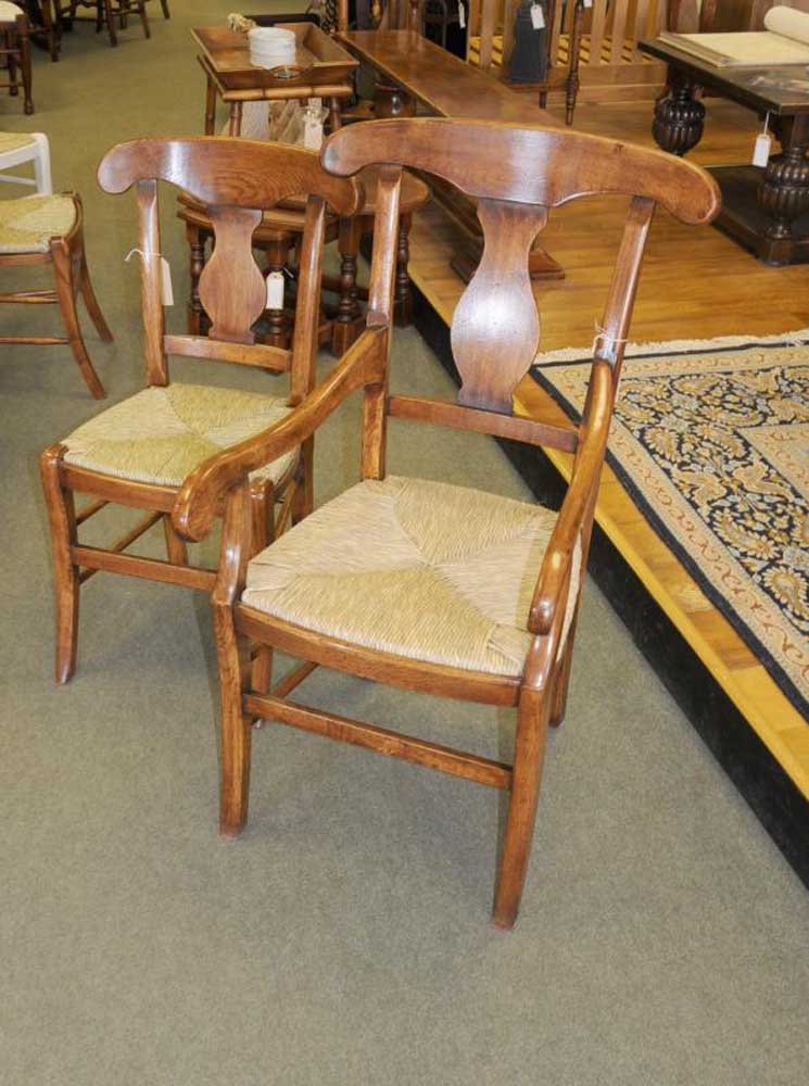 Set 6 French Farmhouse Lyon Dining Chairs