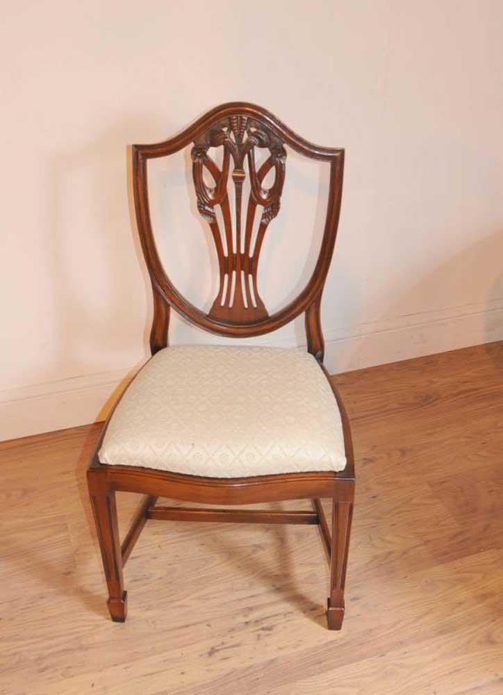 Set Prince Wales Mahogany Dining Chairs Furniture