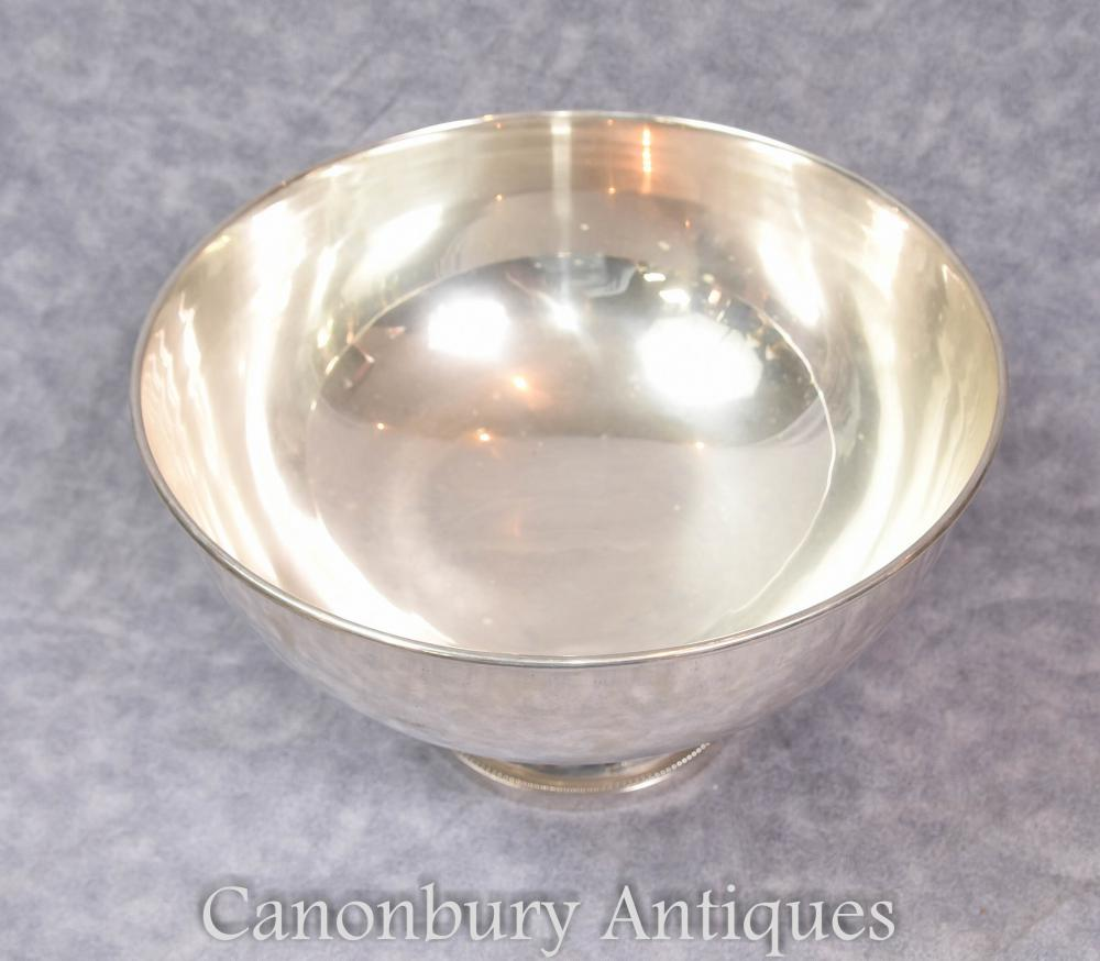 Sheffield Silver Plate Wine Champagne Cooler Punch Bowl