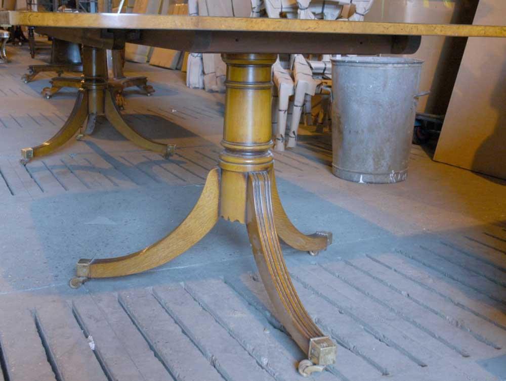 Ten Foot Biedermeier Extending Dining Table