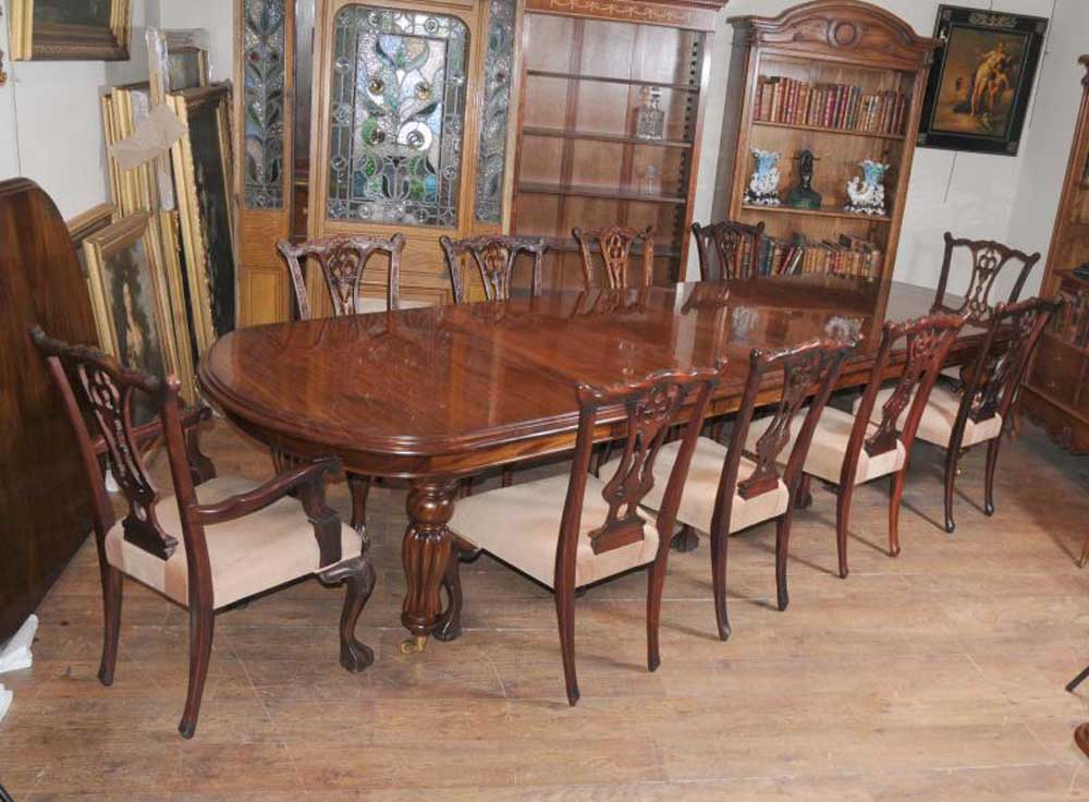 Victorian Dining Table Set Chippendale Chairs Set Suite  : victorian dining table set chippendale chairs set suite mahogany 1329804178 product 12 from www.canonburyantiques.com size 1000 x 736 jpeg 102kB