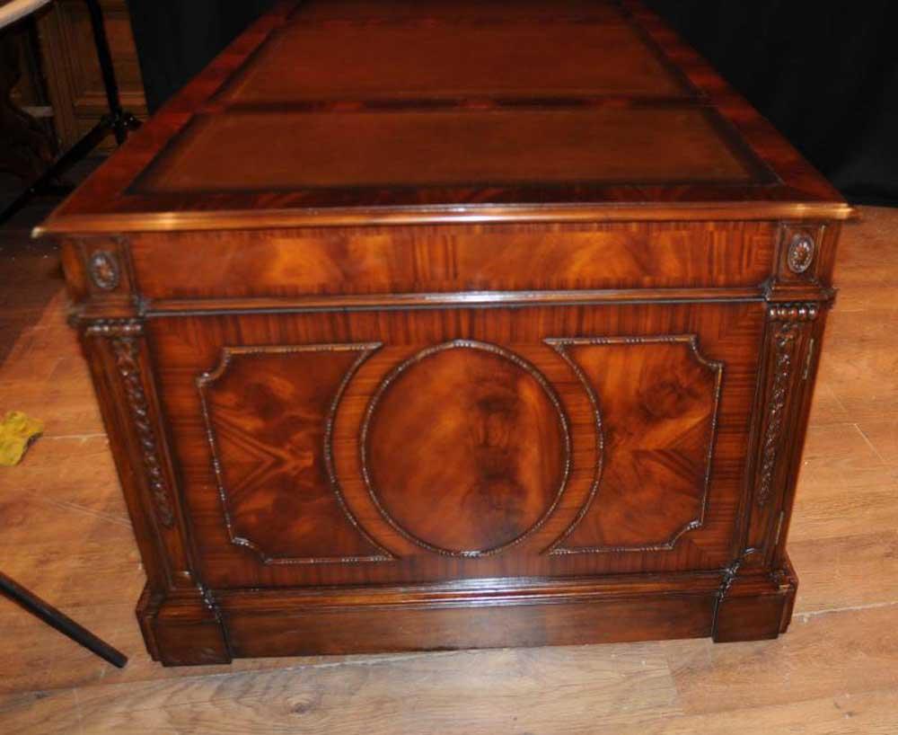 Victorian Mahogany Desk Writing Table Antique Furniture Desks