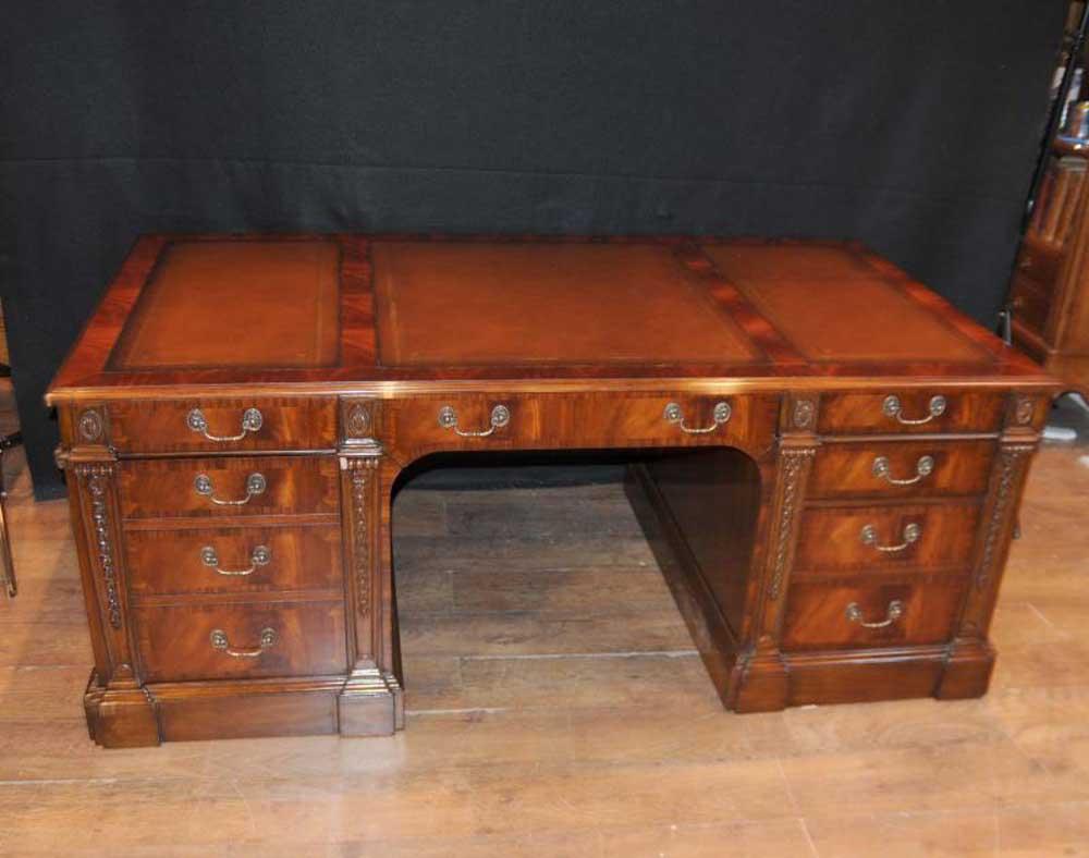 victorian writing desks The finest quality antique desks for sale - bureau, pedestal & partners desks in mahogany, oak & walnut from georgian, victorian & edwardian periods.