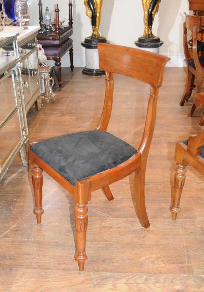 Victorian Walnut Table Amp Chair Dining Set Suite