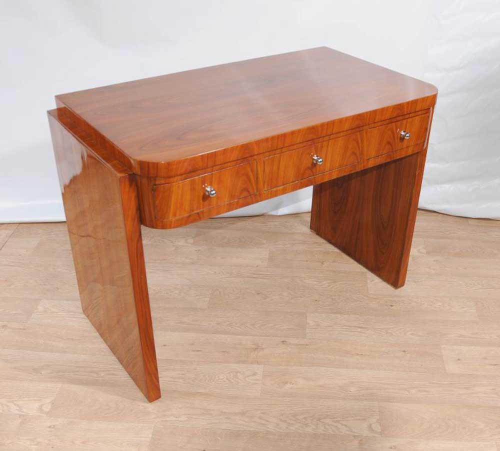 Vintage Art Deco Desk Writing Table 1920s Furniture