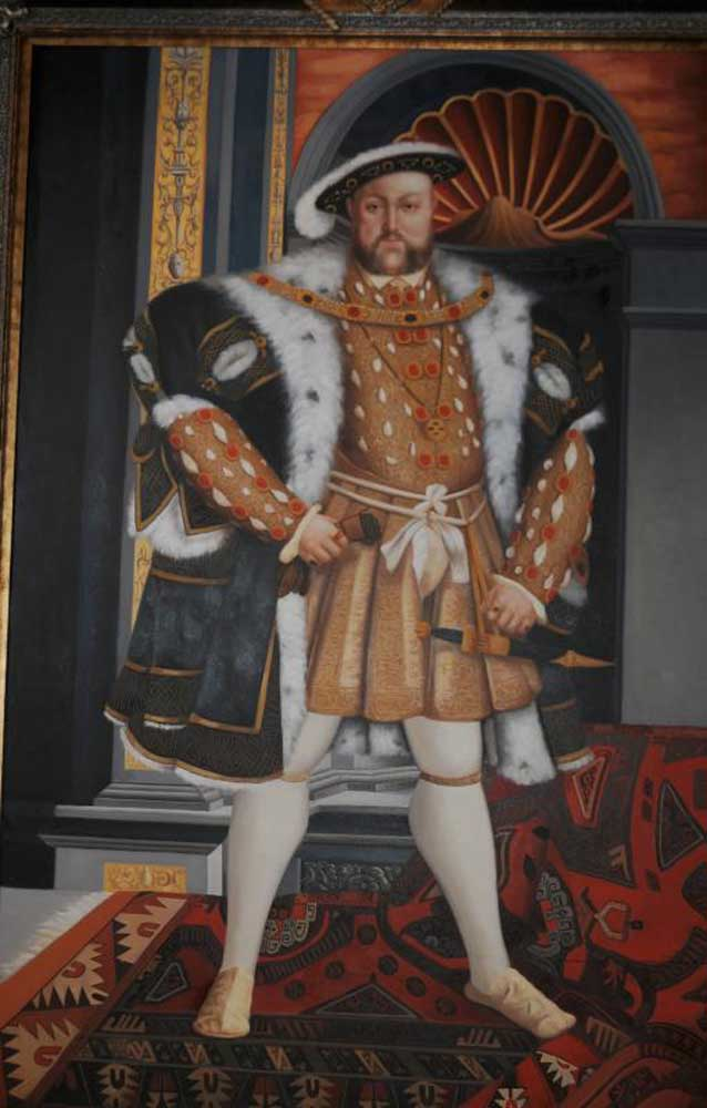 XL Oil Painting King Henry VIII 8th Eight English Monarch ...