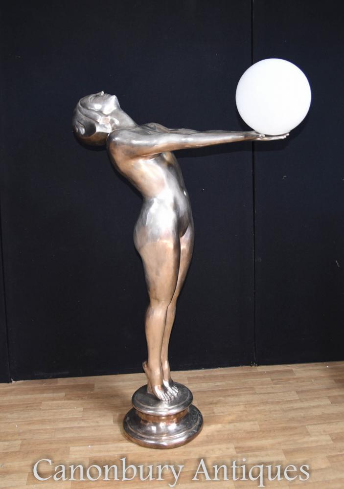 XL Silver Bronze Art Deco Biba Lamp Floor Light Lamps Statue : xl silver bronze art deco biba lamp floor light lamps statue 1342877062 product 204 from www.canonburyantiques.com size 703 x 1000 jpeg 50kB