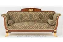 Antique French Empire Settee