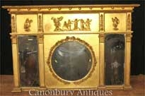 Regency Gilt Mantle Mirror