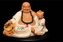 Chinese Happy Buddha - Qing Porcelain