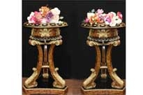 Pair French Empire Torcheres