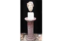 Hand Carved Stone Bust Ajax